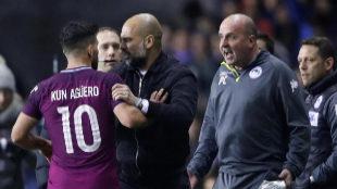 El City, KO en la Copa ante  el Wigan, de Tercera, y trifulca de Guardiola