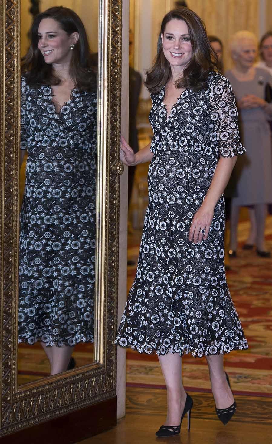 Kate recibió a Stella McCartney y otros representantes de la...