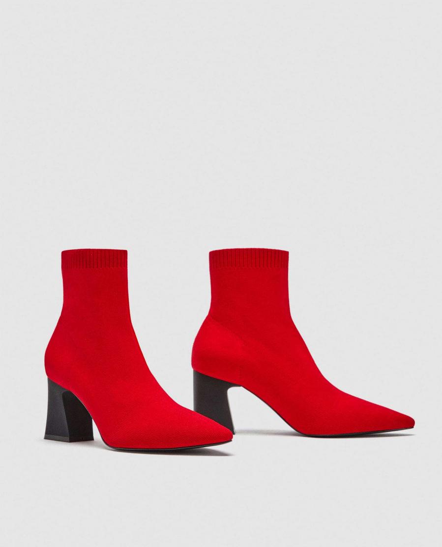 precio competitivo c16e3 513ee Botines rojos de Zara | Yodona/moda | EL MUNDO