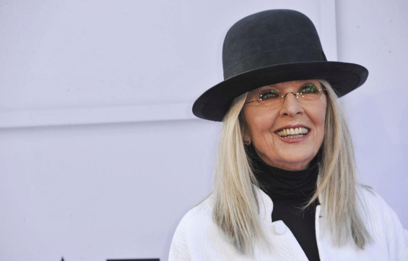Diane Keaton se quedó embelesada con Chris Martin sin saber quién...