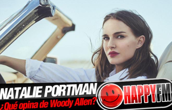 Esto es lo que responde Natalie Portman cuando le preguntan por Woody Allen