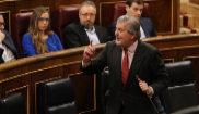 El ministro de Cultura, Íñigo Méndez de Vigo, hoy en el Congreso de...