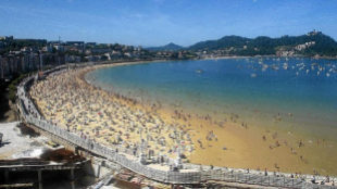 La playa de La Concha, la mejor playa de Europa y la sexta del mundo