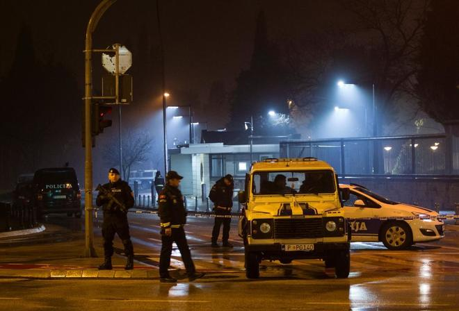 Un atacante lanza una granada y se suicida cerca de la embajada de EEUU en Montenegro