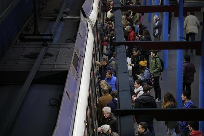 Estación de Príncipe Pío, en la Línea 6 del Metro de Madrid.