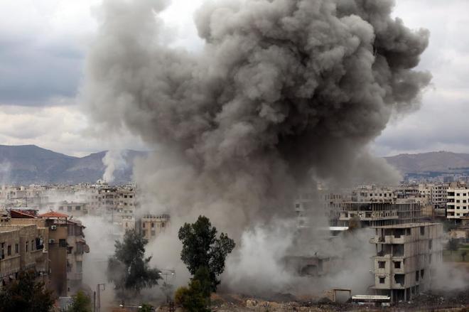 Nadie apaga el infierno de GutaGuerra en Siria: