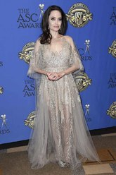 La gala de los ASC Awards fue la cita escogida por la actriz Angelina...