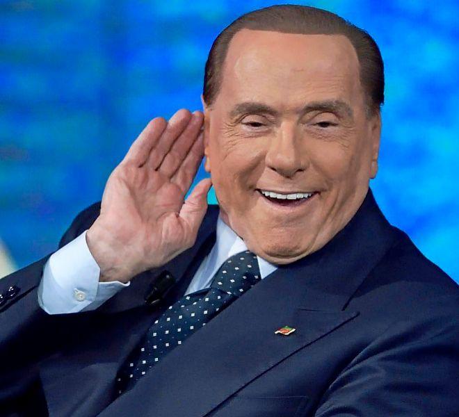 Silvio Berlusconi, que parte como favorito en las próximas elecciones.