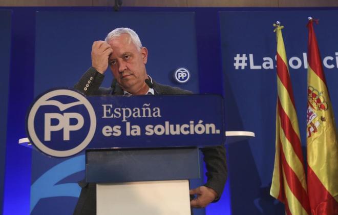 Santi Rodríguez, portavoz del PP en el Parlament catalán.