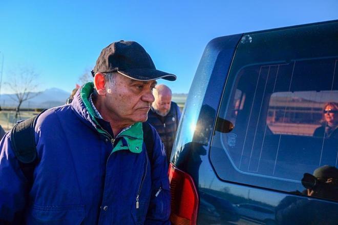 El ex presidente de la CEOE, Gerardo Díaz Ferrán, a su salida de...