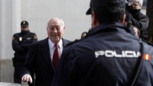 El ex tesorero del PP Álvaro Lapuerta, antecesor de Luis Bárcenas en...