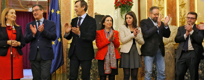 Ana Pastor, Ignacio Prendes, Rafael Hernando, Margarita Robles, Irene...
