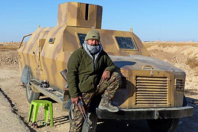 Juan Manuel Soria, ex militar valenciano de 48 años, casado y con hijos, pasó dos años en Siria combatiendo, como jefe, al lado de los kurdos.