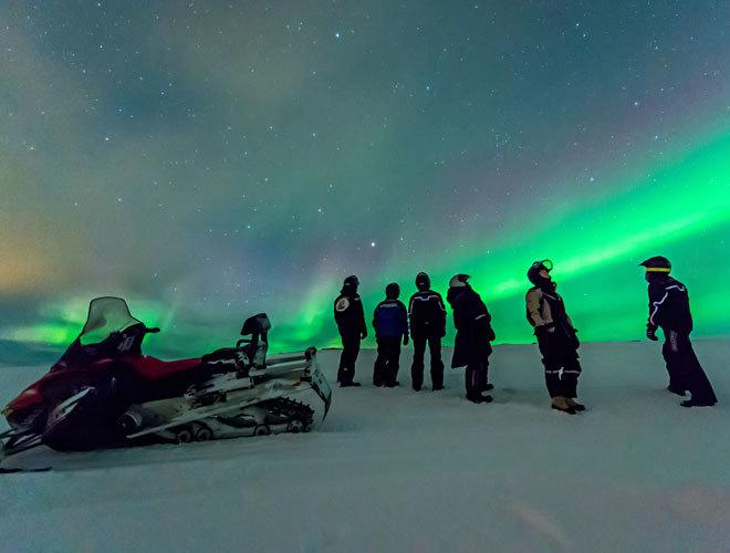 En busca de las auroras boreales más increíbles de Noruega