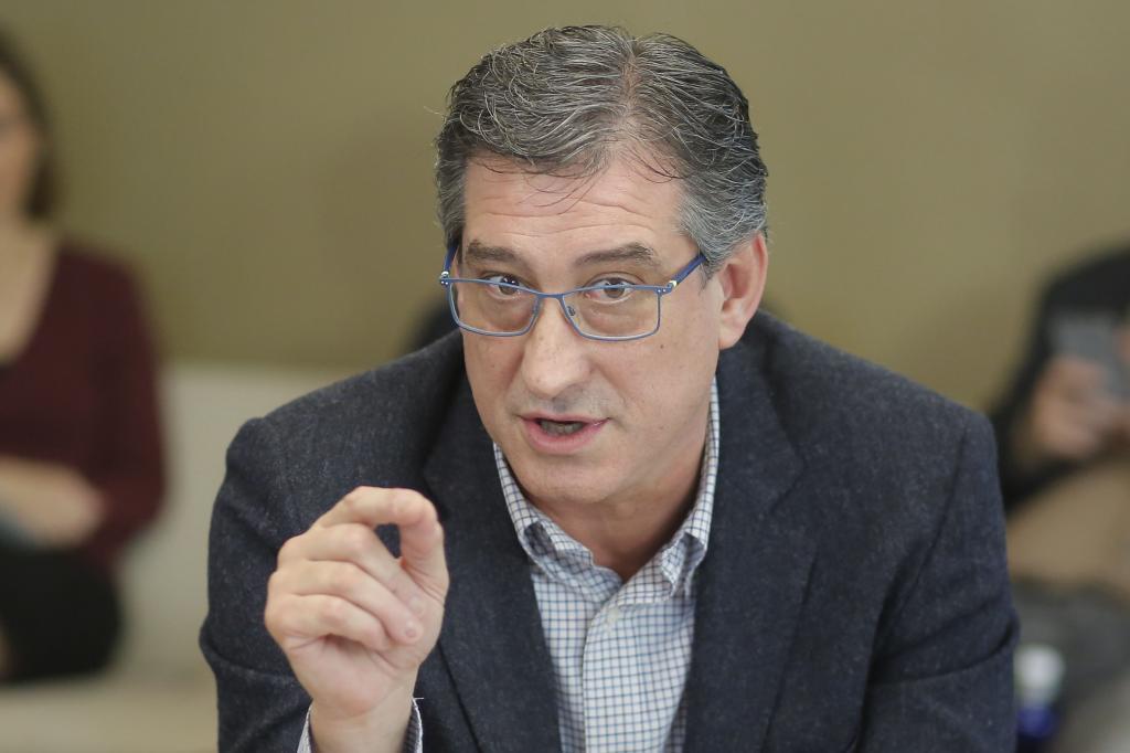 El diputado de Ciudadanos Ignacio Prendes, vicepresidente primero de...