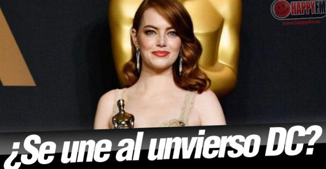 Emma Stone, ¿la gran villana de 'Wonder Woman 2'?