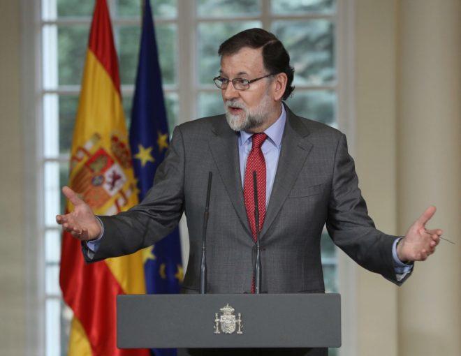 Rajoy, sol y sombra