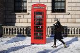 En Reino Unido se han registrado grandes nevadas y temperaturas de 10...