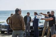 Rodaje de la serie 'Fariña', emitida en Antena 3.