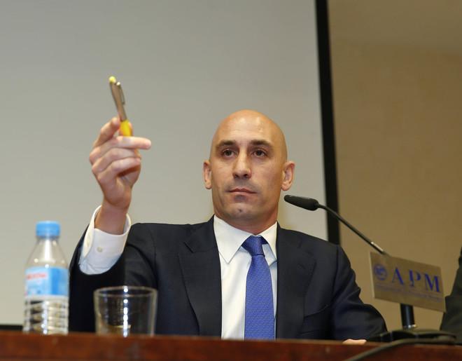 Luis Rubiales, principal candidato para suceder a Villar en la presidencia de la RFEF.