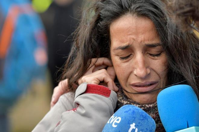 La madre del menor desaparecido en las Hortichuelas en Níjar (Almería).