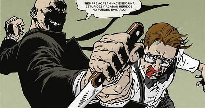 Violencia 'noir' en la trama de 'Grindhouse'.