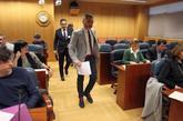 Alejandro de Pedro, en la Comisión de investigación sobre...