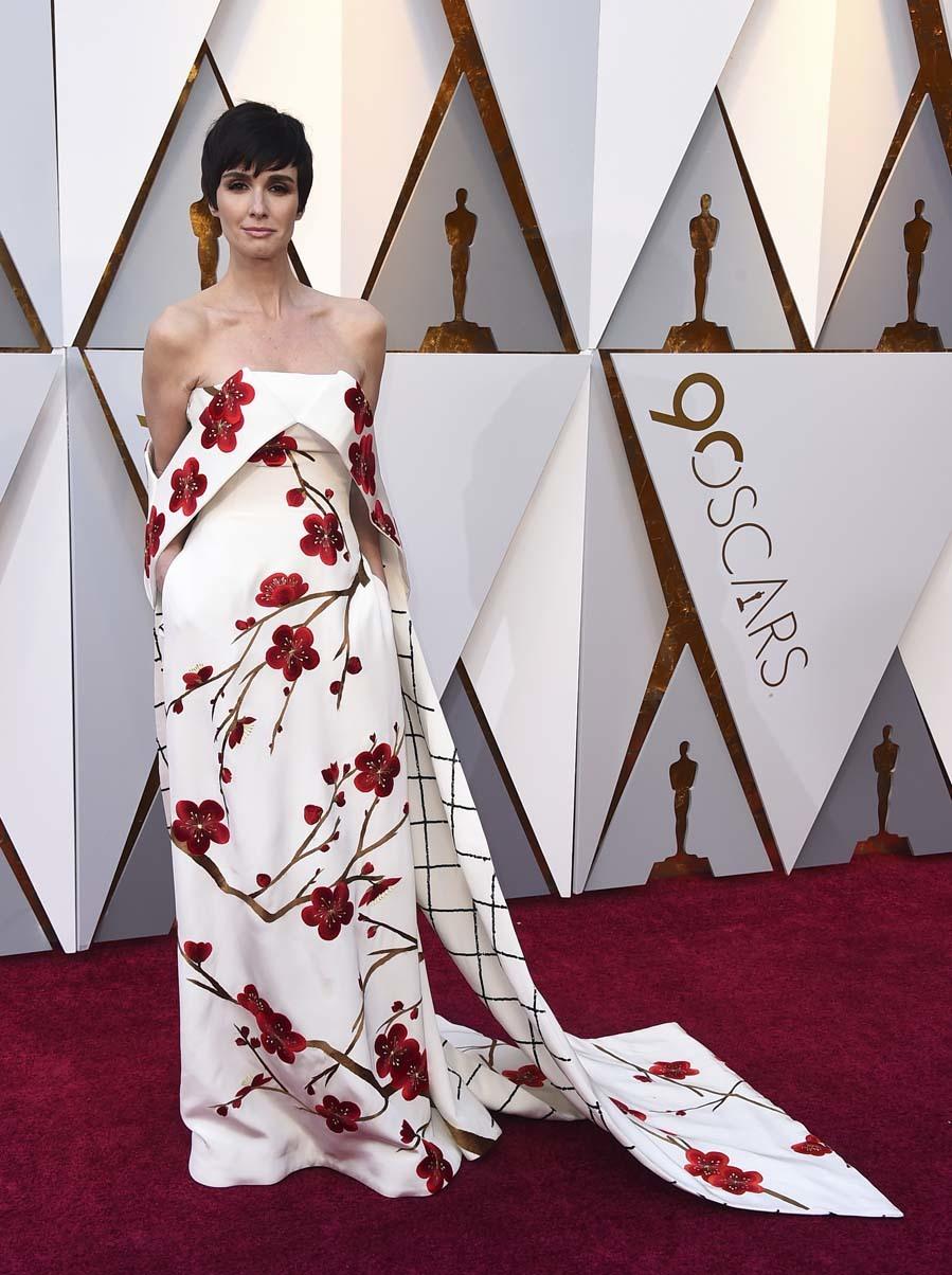 Alfombra Roja Premios Oscar 2018 Jane Fonda Yodona