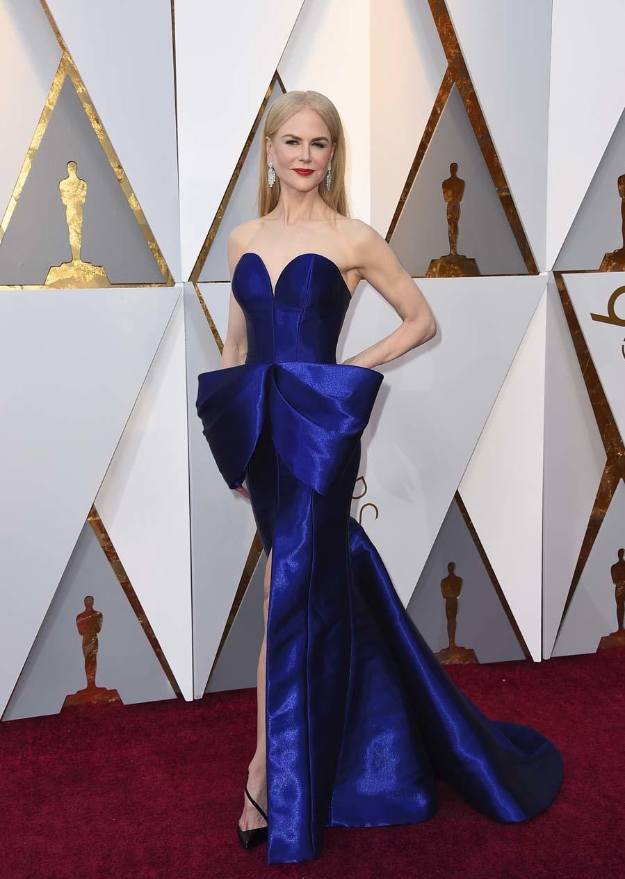 Los Oscar 2018 Todos Los Vestidos De La Alfombra Roja De