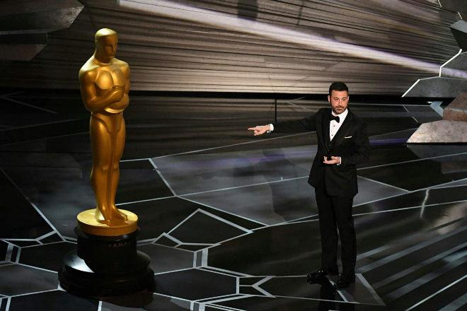 Jimmy Kimmel al comienzo de la gala de los Oscar.