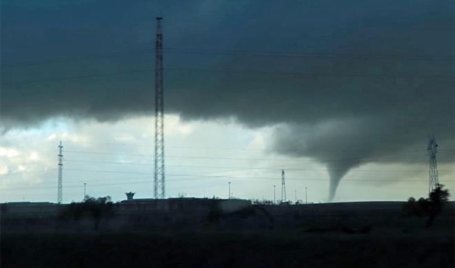 Los tornados vuelven a c diz y huelva andaluc a - Tornados en espana ...