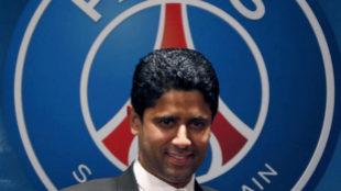 Nasser al-Khelaifi, dueño del PSG.