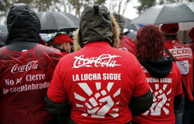 Coca-Cola renuncia al recurso sobre la sentencia de la fábrica de Fuenlabrada y busca un acuerdo definitivo con los trabajadores
