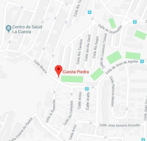 Zona de la ciudad donde se produjo la agresión en Santa Cruz de...