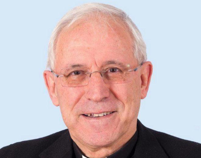 El obispo de Tarazona, Eusebio Hernández