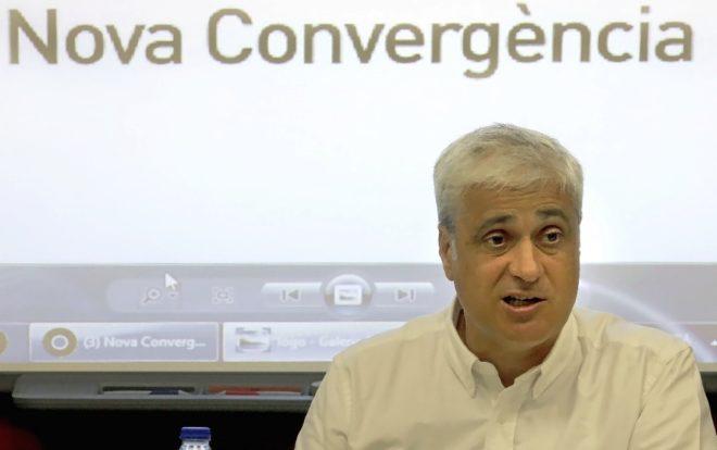 Germá Gordó, en la Asamblea de Nova Convergència en Barcelona, el...