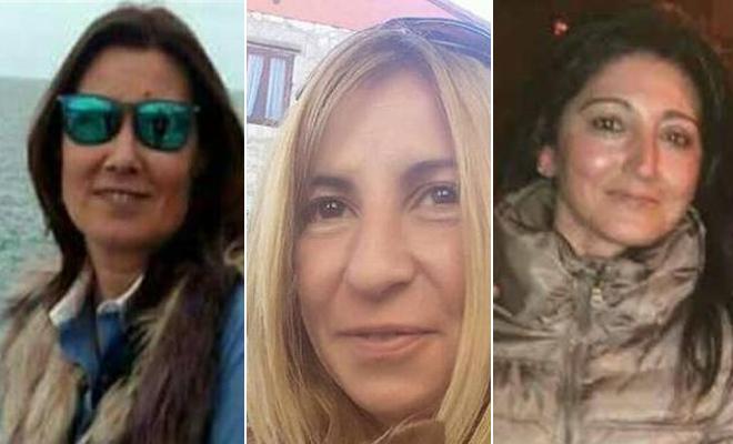 Lorena Torre, Paz Fernández y Concepción Barbeira, desaparecidas en...