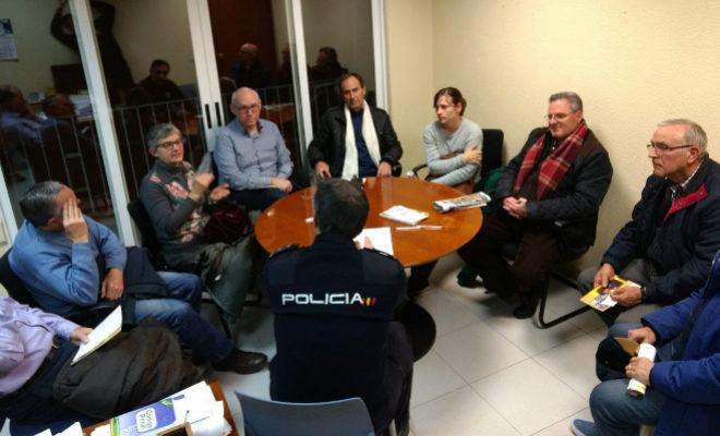 Agentes de paisano de la Policía Nacional vigilarán las zonas de 'masets' de Vila-real asediadas por los robos