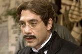 El actor Javier Bardem caracterizado de Florentino Ariza en la...