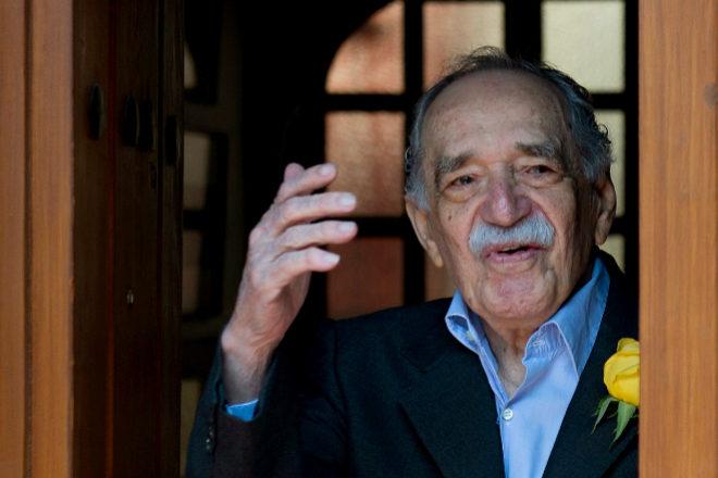 Márquez salida a la prensa a las puertas de su casa