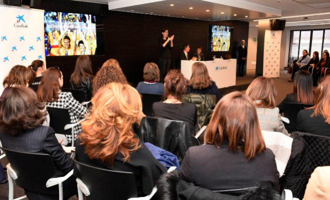 CaixaBank reúne a un centenar de empresarias y directivas para debatir sobre el liderazgo en clave femenina