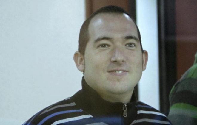 El etarra Xabier Rey durante el juicio en el año 2010