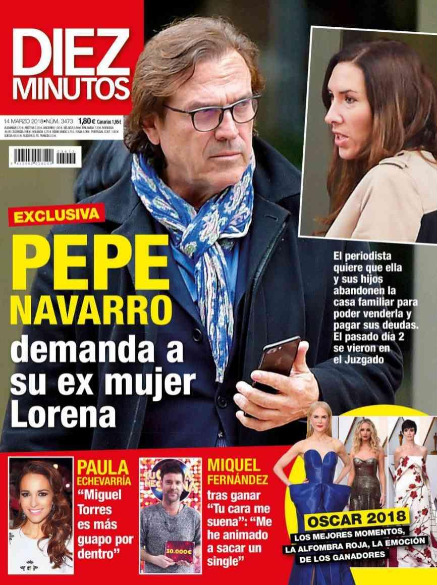 Después de la última guerra judicial de Pepe Navarro con Ivonne...