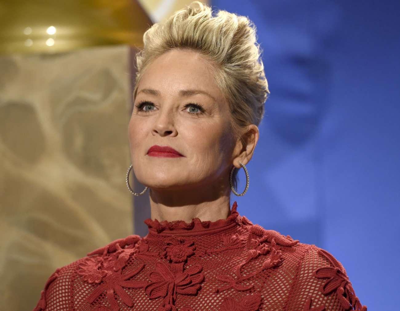 Sharon Stone cumple este viernes 60 años. Tan atractiva como siempre...