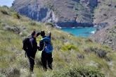 Dos voluntarios participan en el operativo de búsqueda de Gabriel...