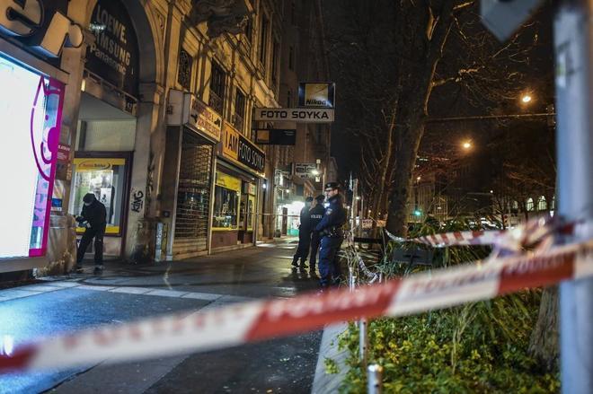 La policía austríaca detuvo a un sospechoso en uno de
