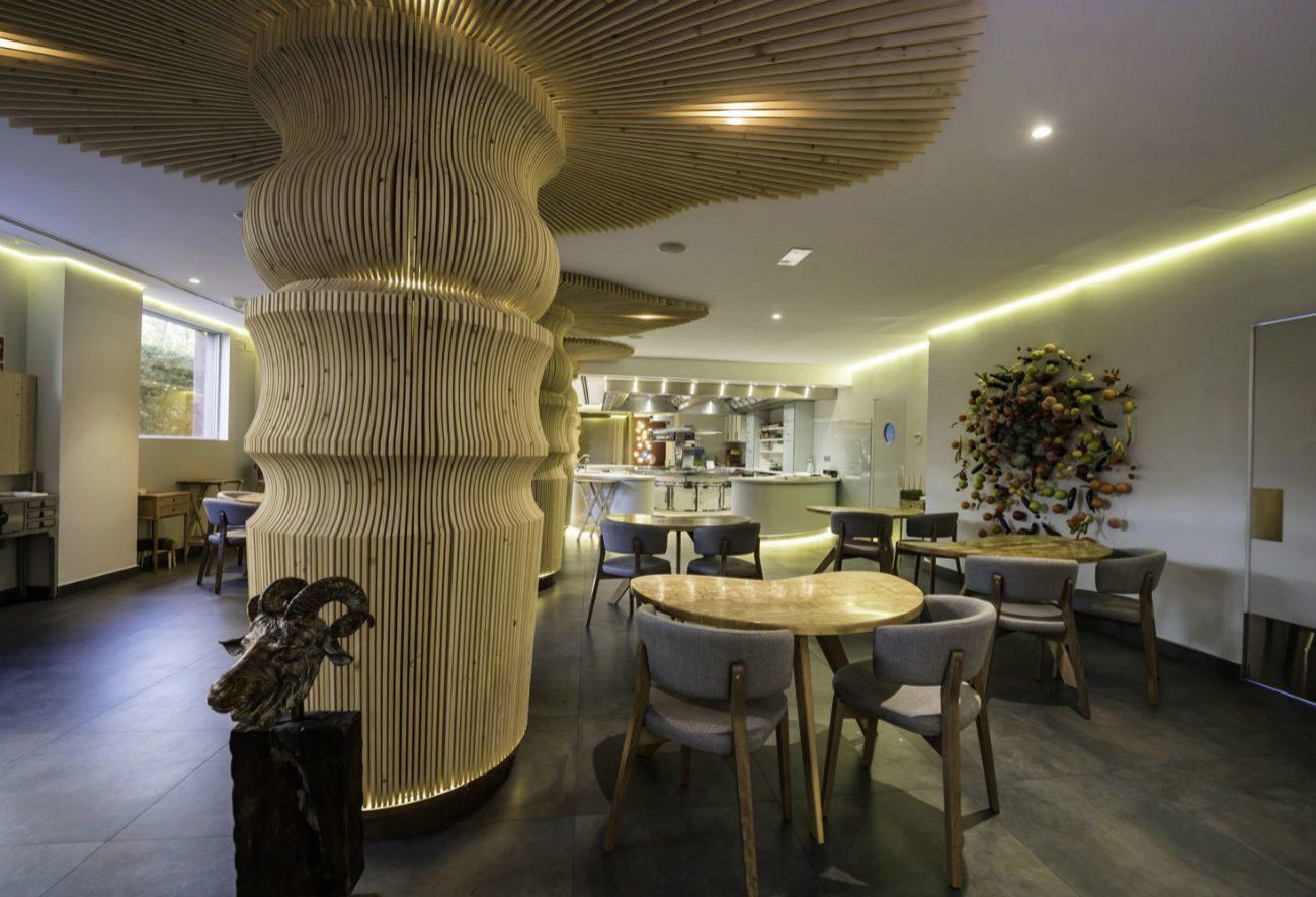 El chef Javier Aranda ha concebido su segundo restaurante capitalino...