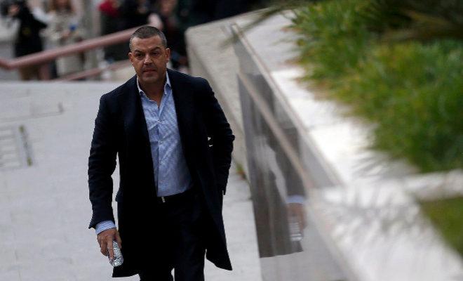 Miguel Ángel Flores, el día que comenzó el juicio por el Madrid Arena, en enero de 2016.