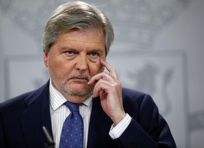El Ministro y portavoz, Íñigo Méndez de Vigo, la pasada semana.