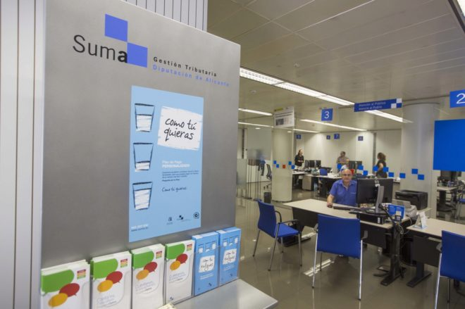 Suma inicia el cobro cerca de 2 millones de recibos de for Oficina de gestion tributaria
